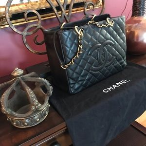 CHANEL Caviar Leather GST EXTRA PICS